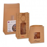Stand Up Paper Bags With Window 2